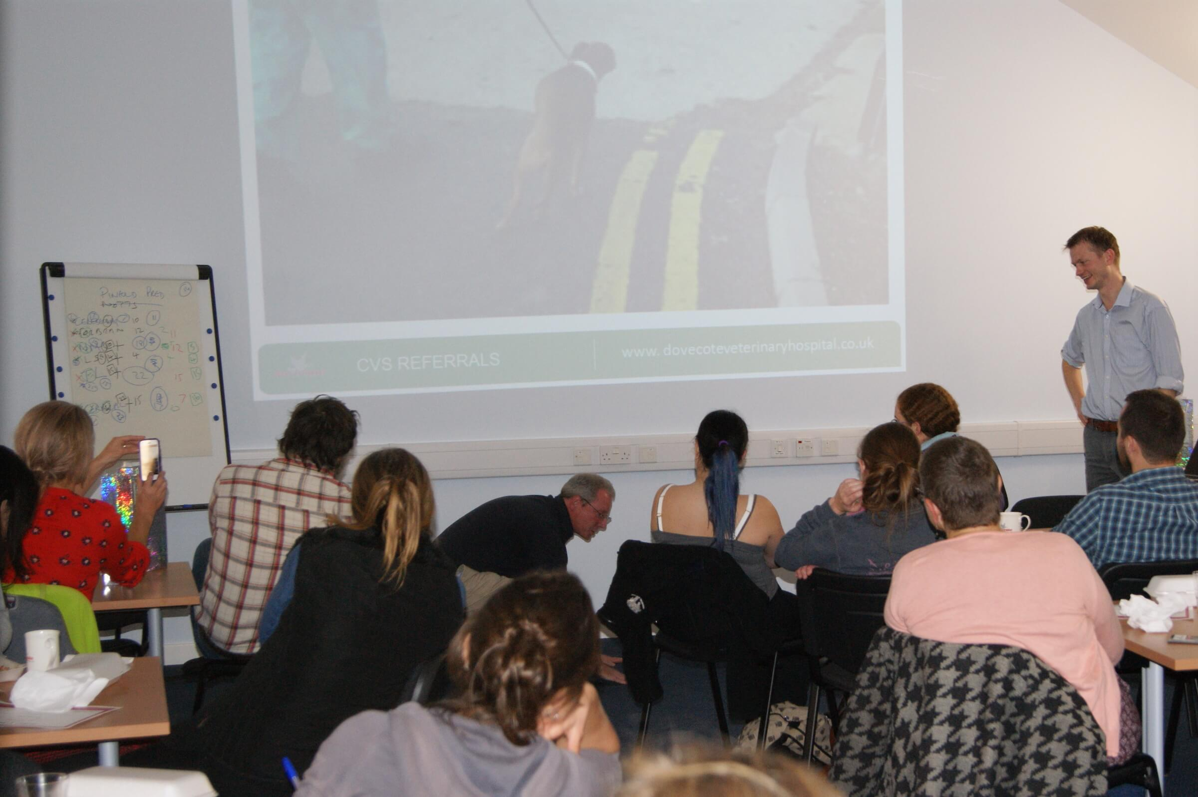CPD training session