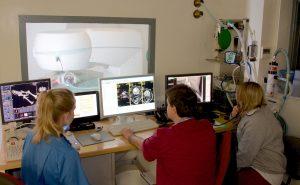 MRI scanner at Dovecote Veterinary Hospital